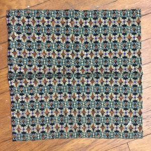 Brioni Italian Vintage Print 80's Pocket Square